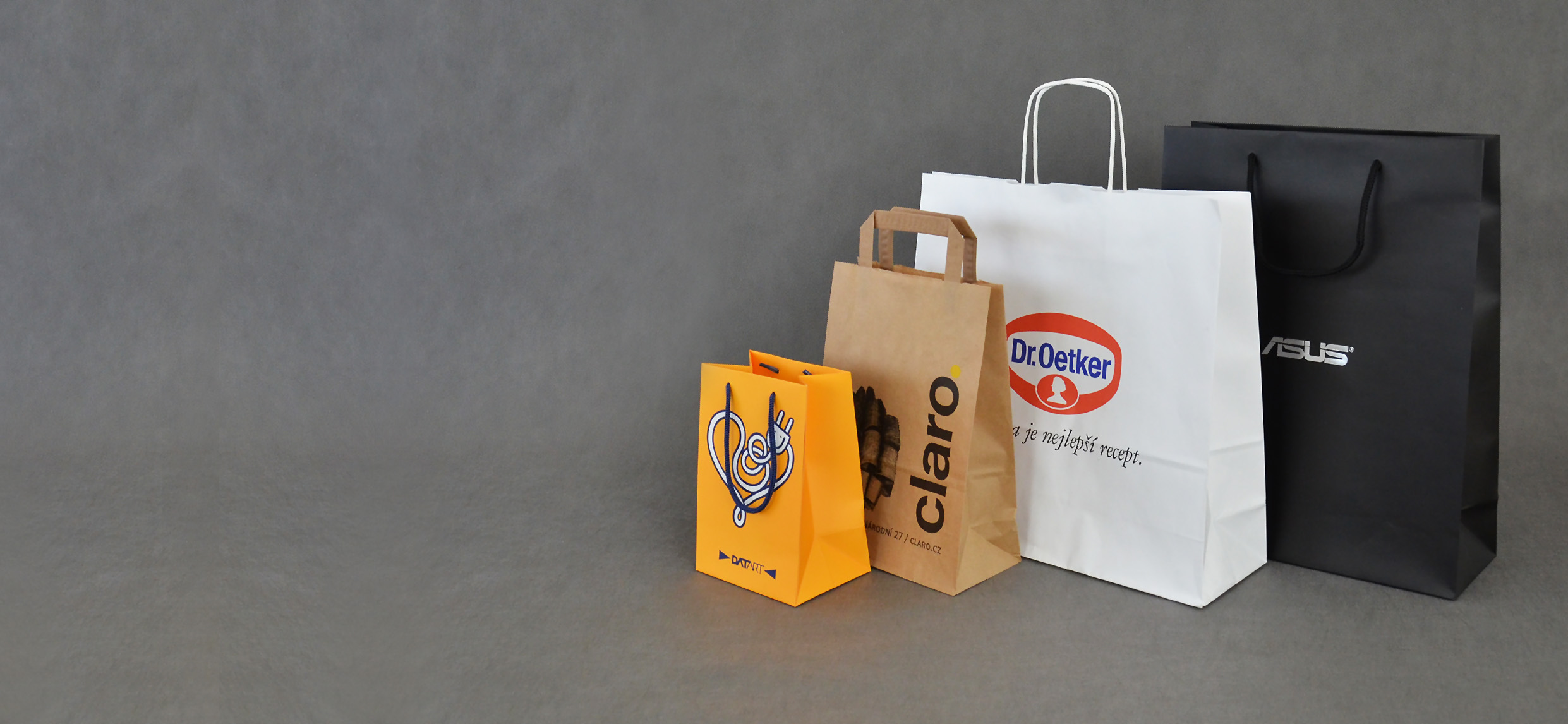 Specialisté na <br />papírové tašky